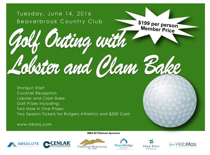 Golf Outing with Lobster and Clam Bake